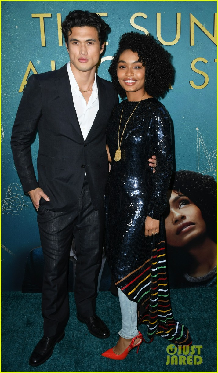 yara shahidi charles melton step out for the sun is also a star premiere 05