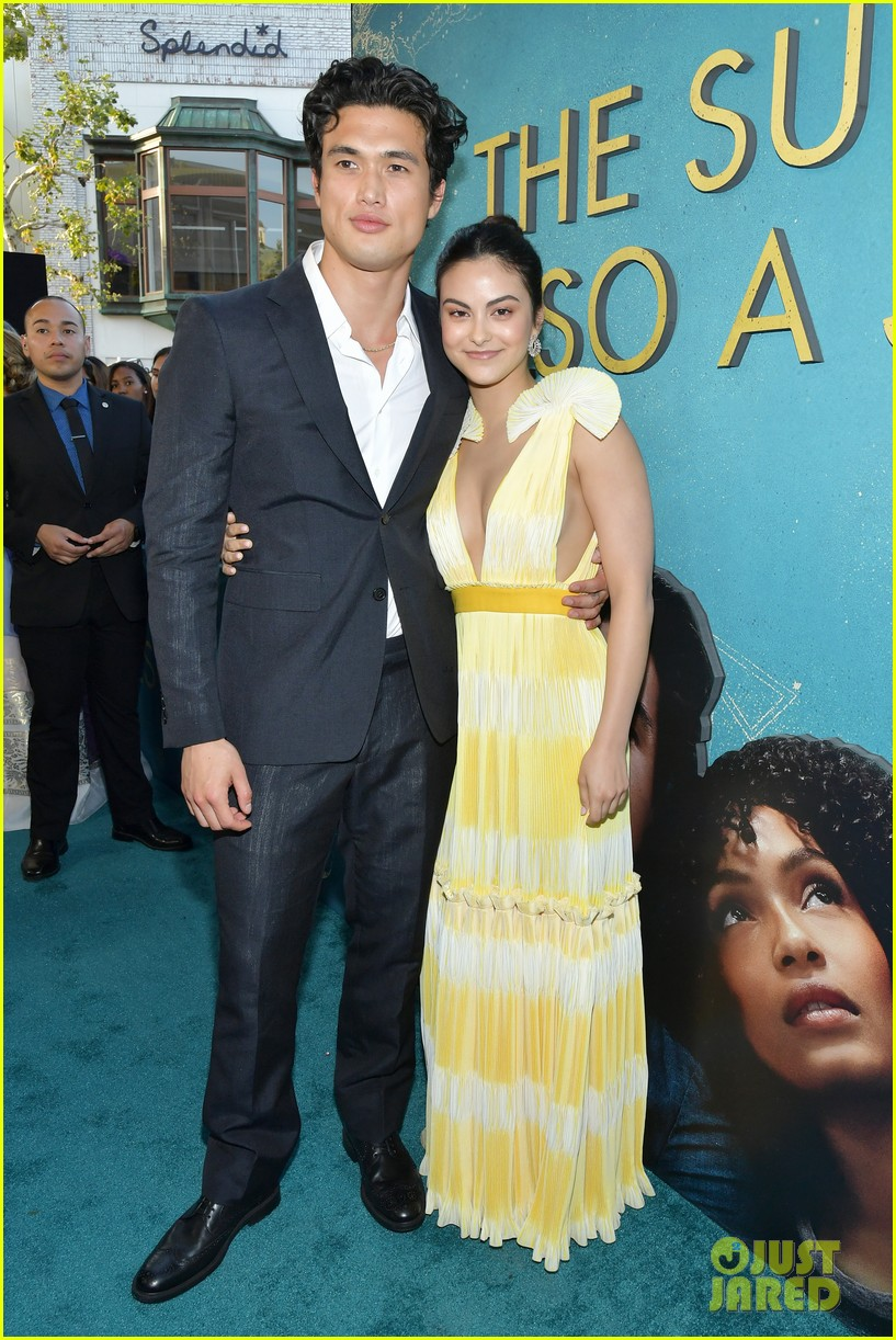 yara shahidi charles melton step out for the sun is also a star premiere 17