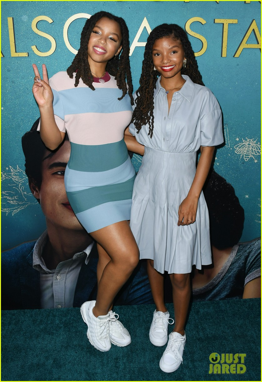 yara shahidi charles melton step out for the sun is also a star premiere 20