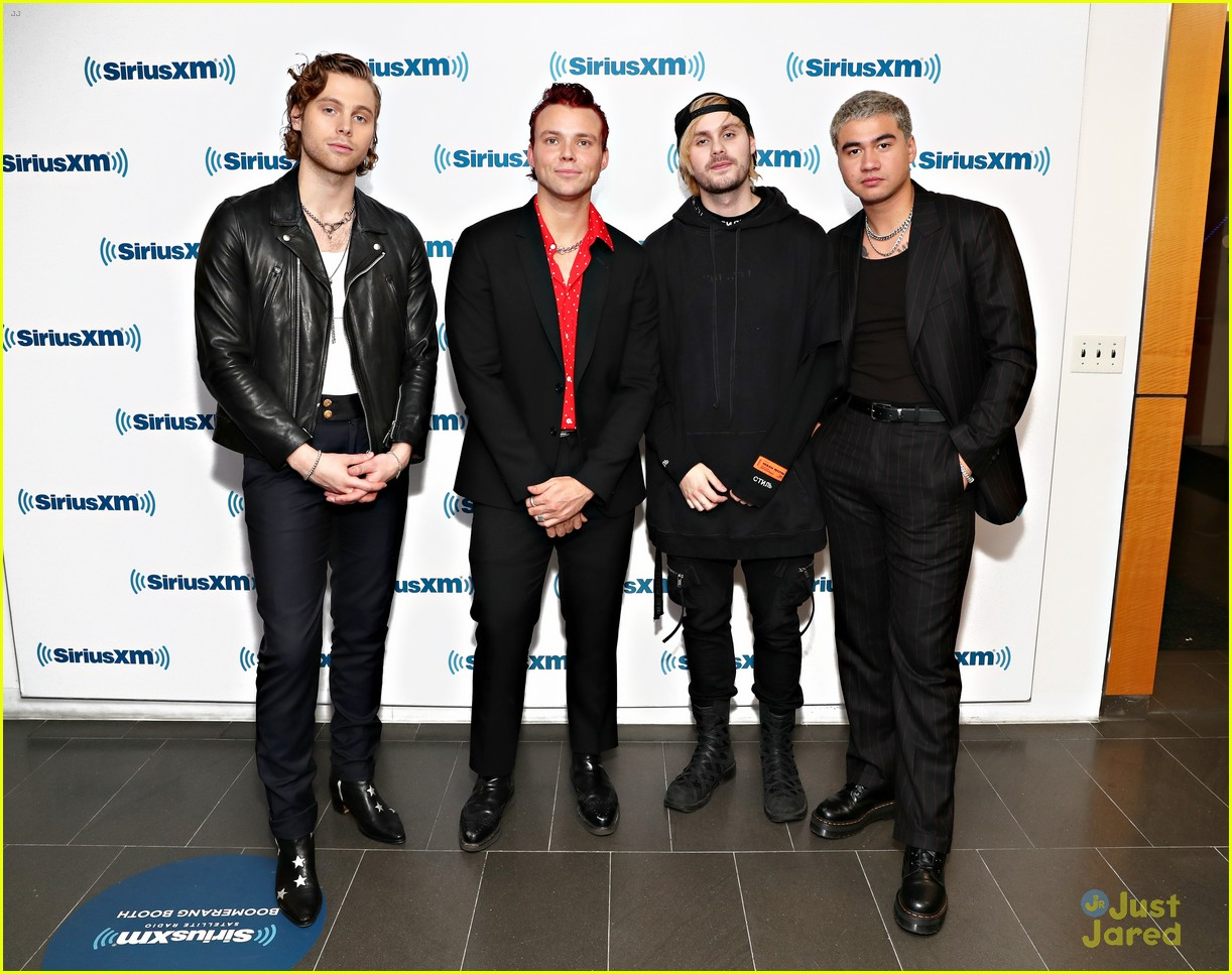 5sos guys talk fans songs siriusxm stop 01