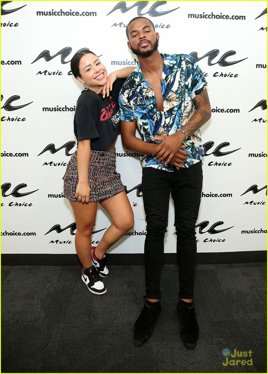 Cierra Ramirez & Trevor Jackson Hype Up 'Broke Us' in NYC