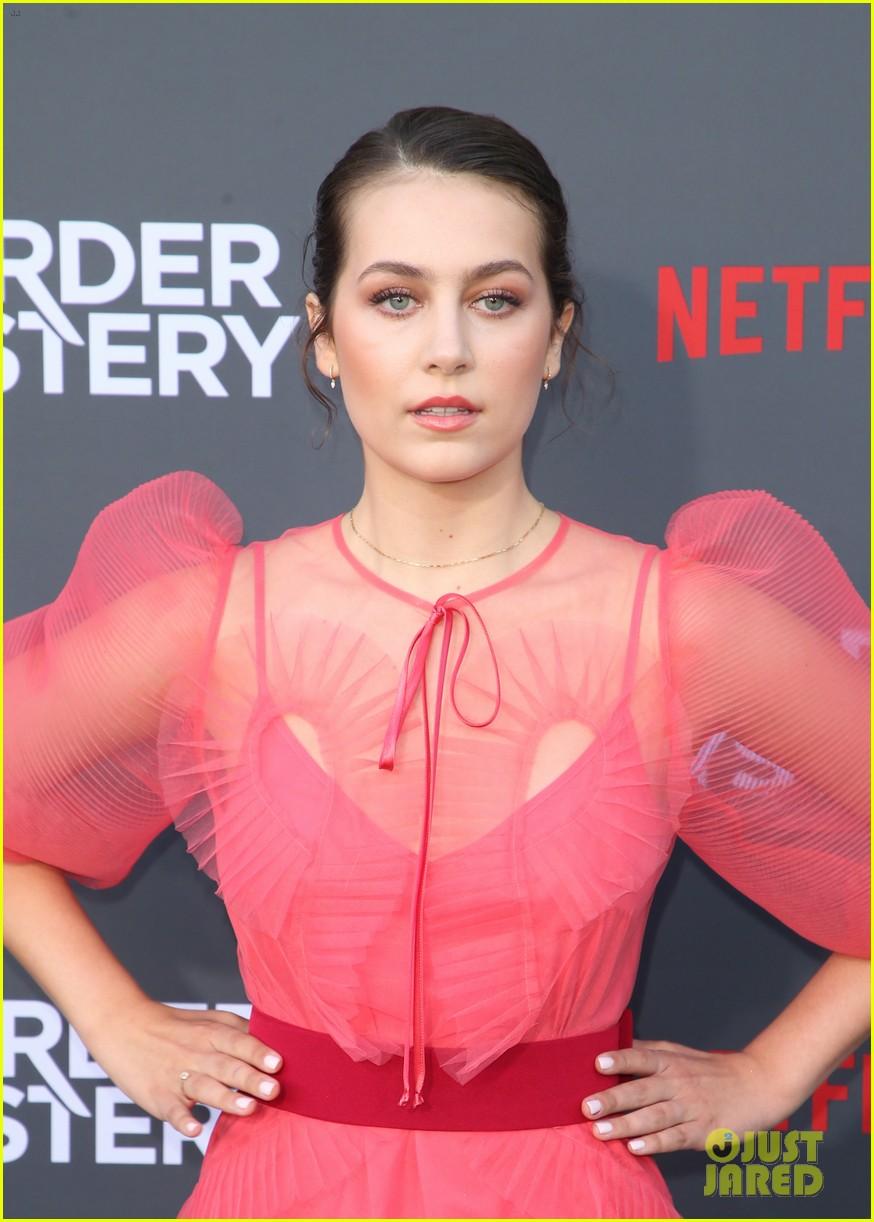 emma fuhrmann is pretty in pink at murder mystery premiere 11