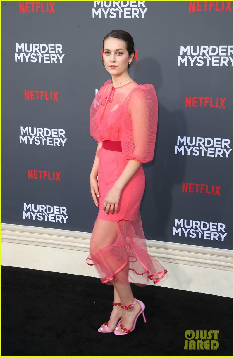 emma fuhrmann is pretty in pink at murder mystery premiere 12