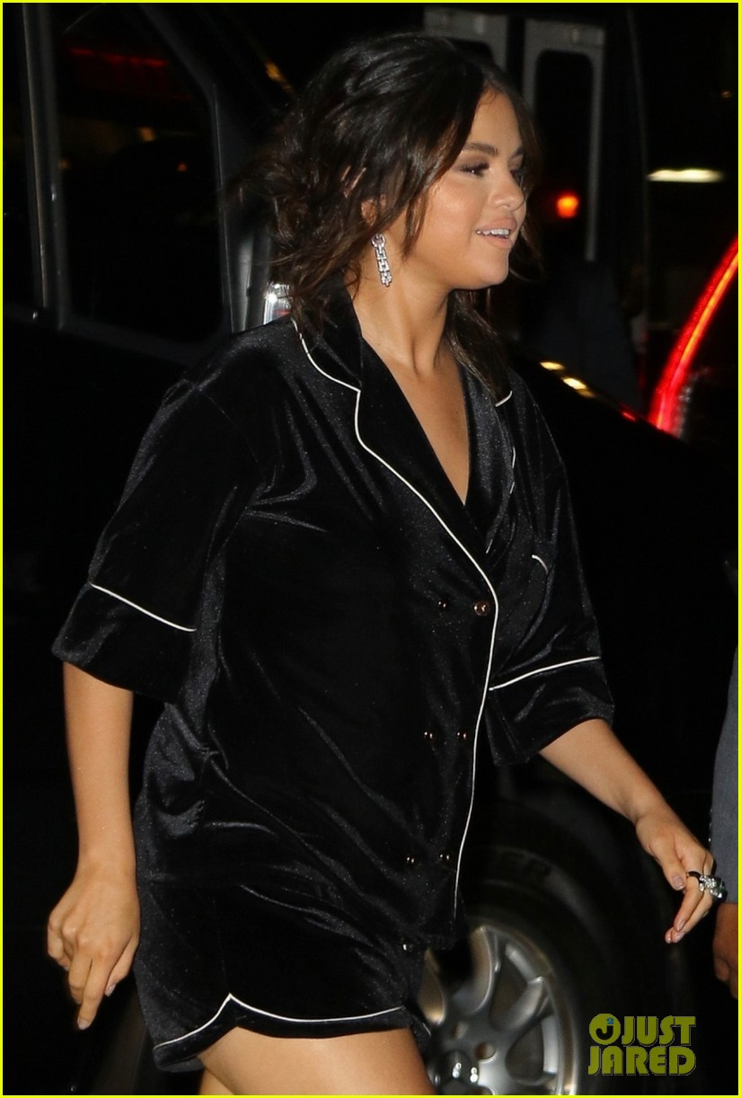 selena gomez wears pajama inspired look to dead dont die after party 03