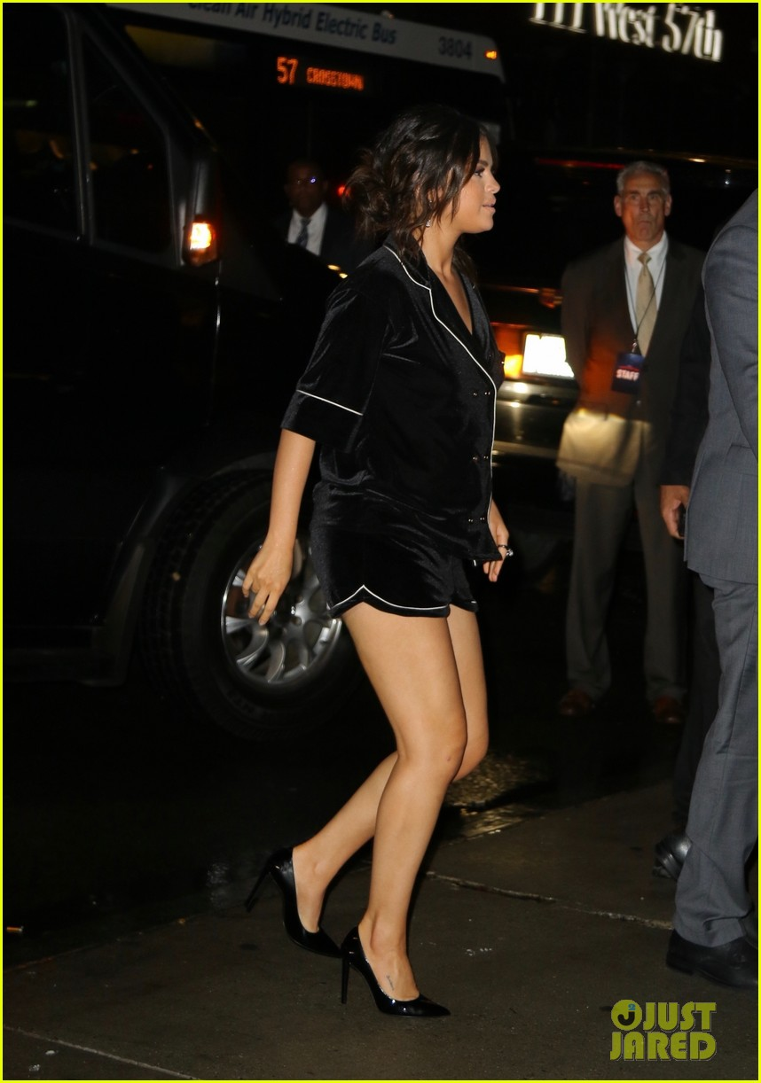 selena gomez wears pajama inspired look to dead dont die after party 04