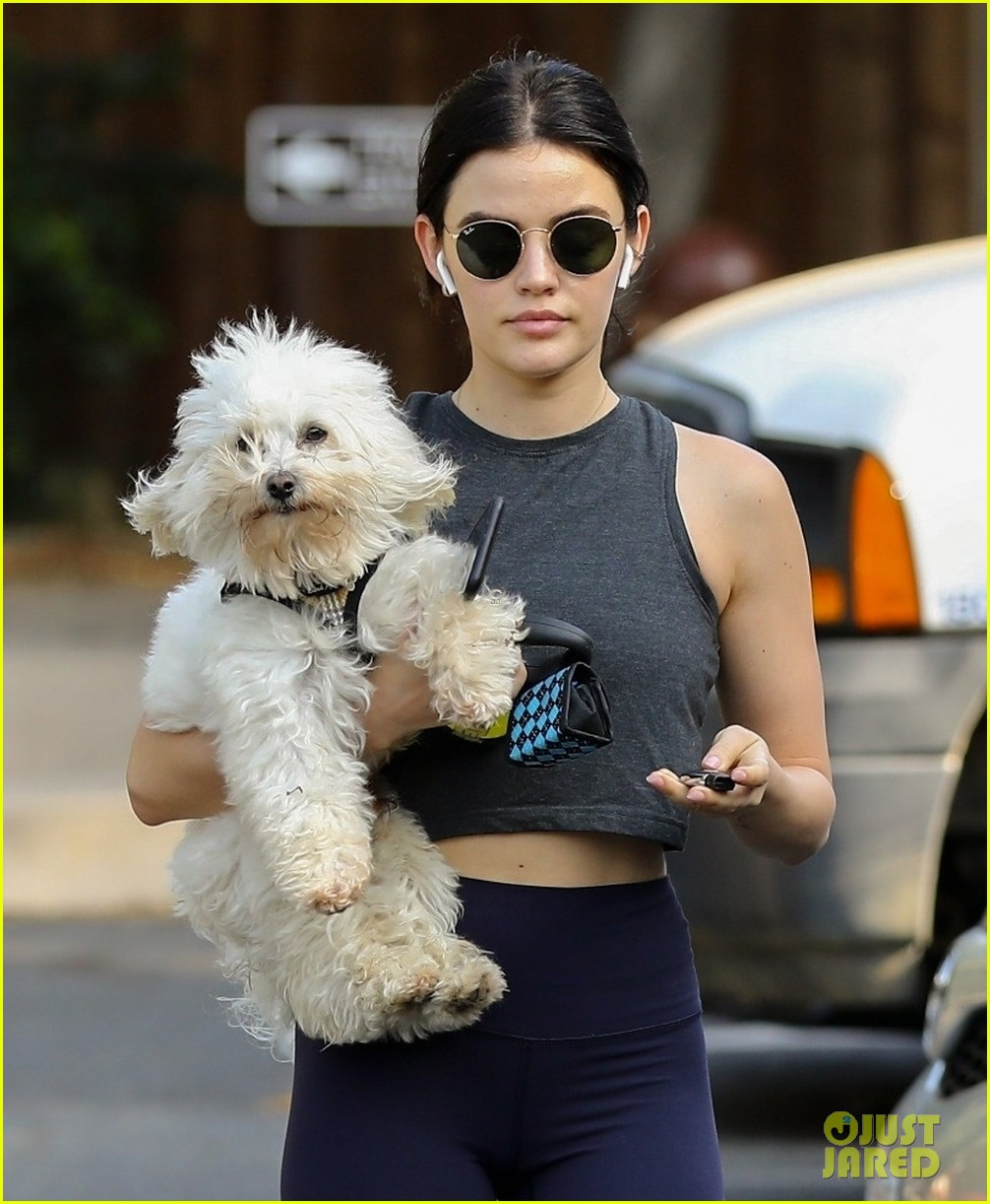lucy hale holding elvis 04