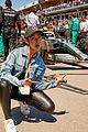liza koshy becomes first woman to present pirello pole position award at formula 1 12