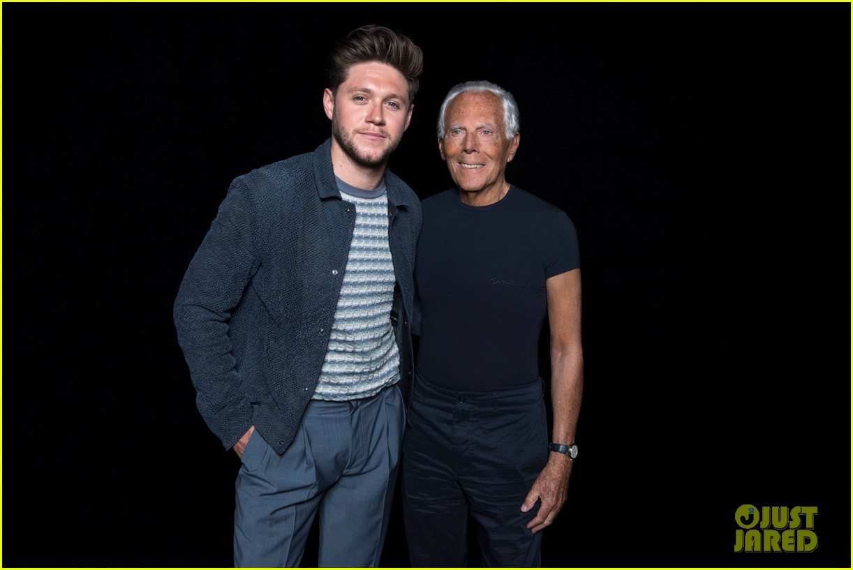 niall horan plays in soccer aid for unicef game after attending armani show 04