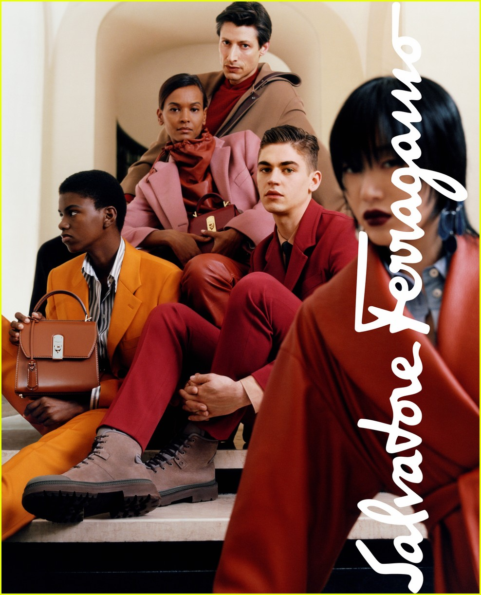 hero fiennes tiffin makes ferragamo campaign debut 02