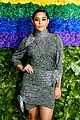 vanessa hudgens sparkles on the red carpet at tony awards 03