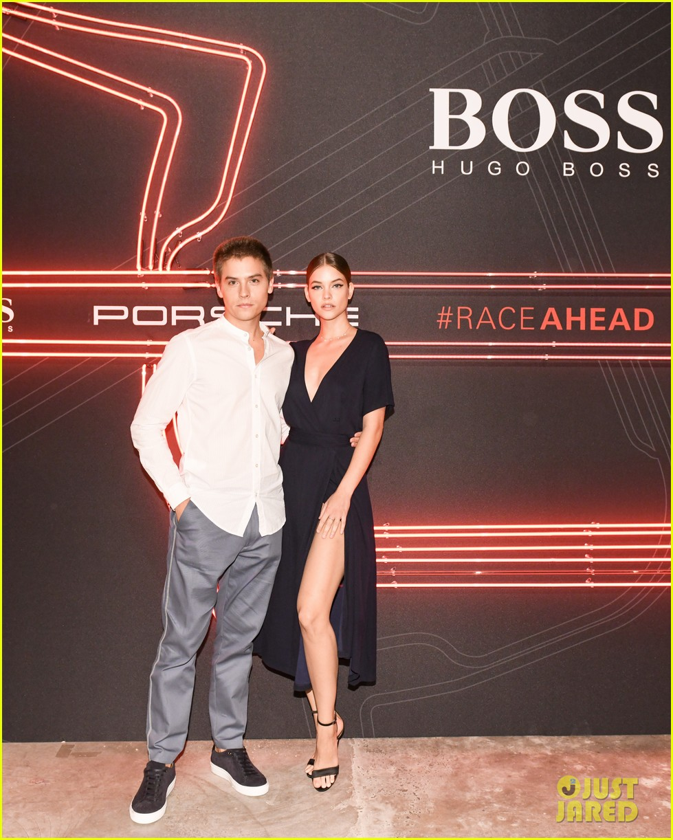 dylan sprouse barbara palvin kiss boss party 10