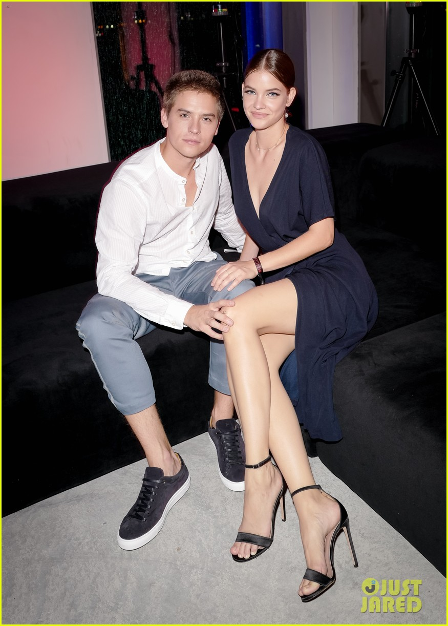 dylan sprouse barbara palvin kiss boss party 11