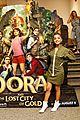 isabela moner eva longoria bring dora and the lost city of gold to miami 09