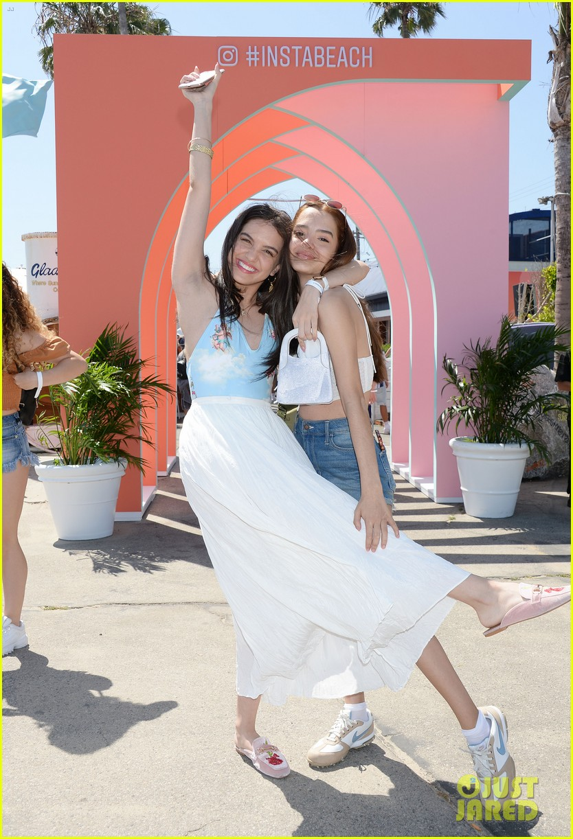 lilimar sky katz siena agudong have fun at instabeach event 27