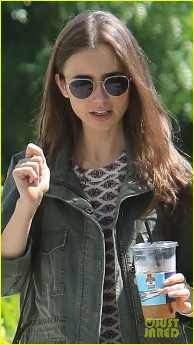 lily collins kevin zegers lunch meetup pics 05