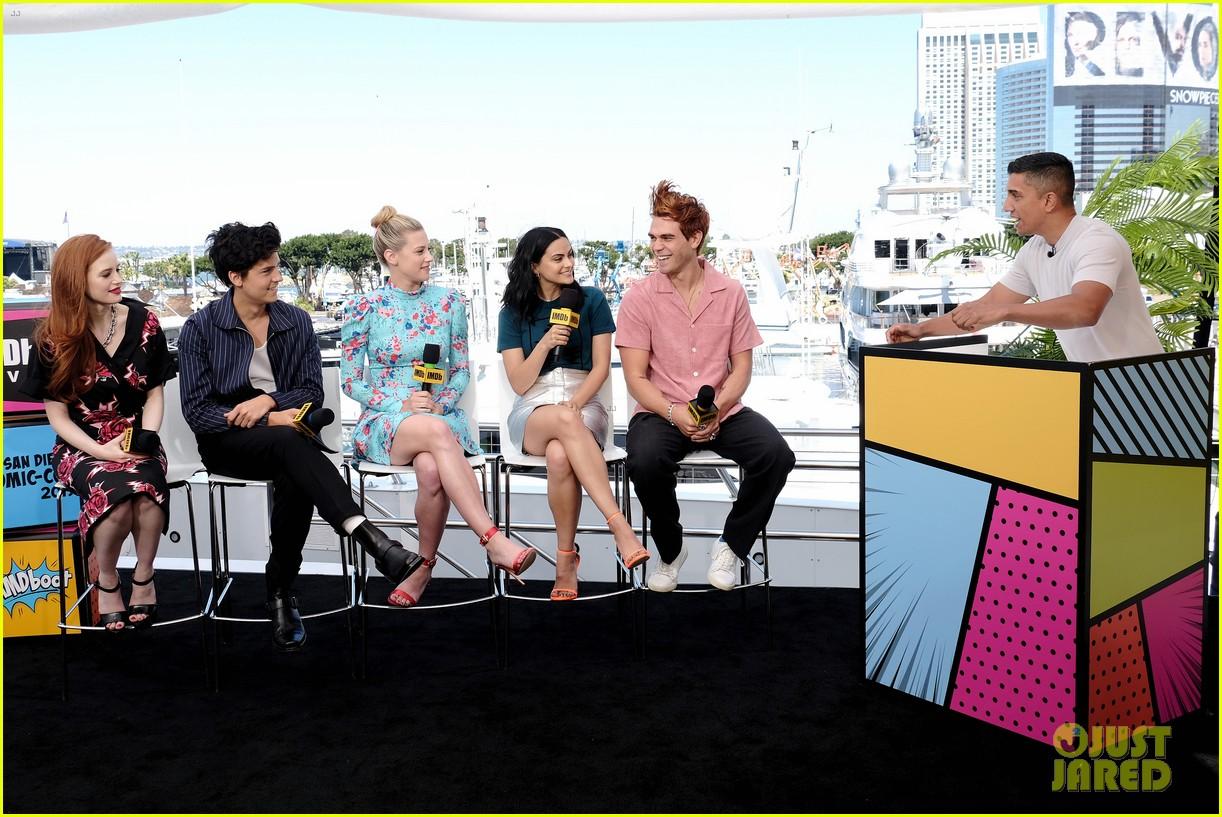 The Stars of 'Riverdale' Promote Season 4 at Comic-Con 2019