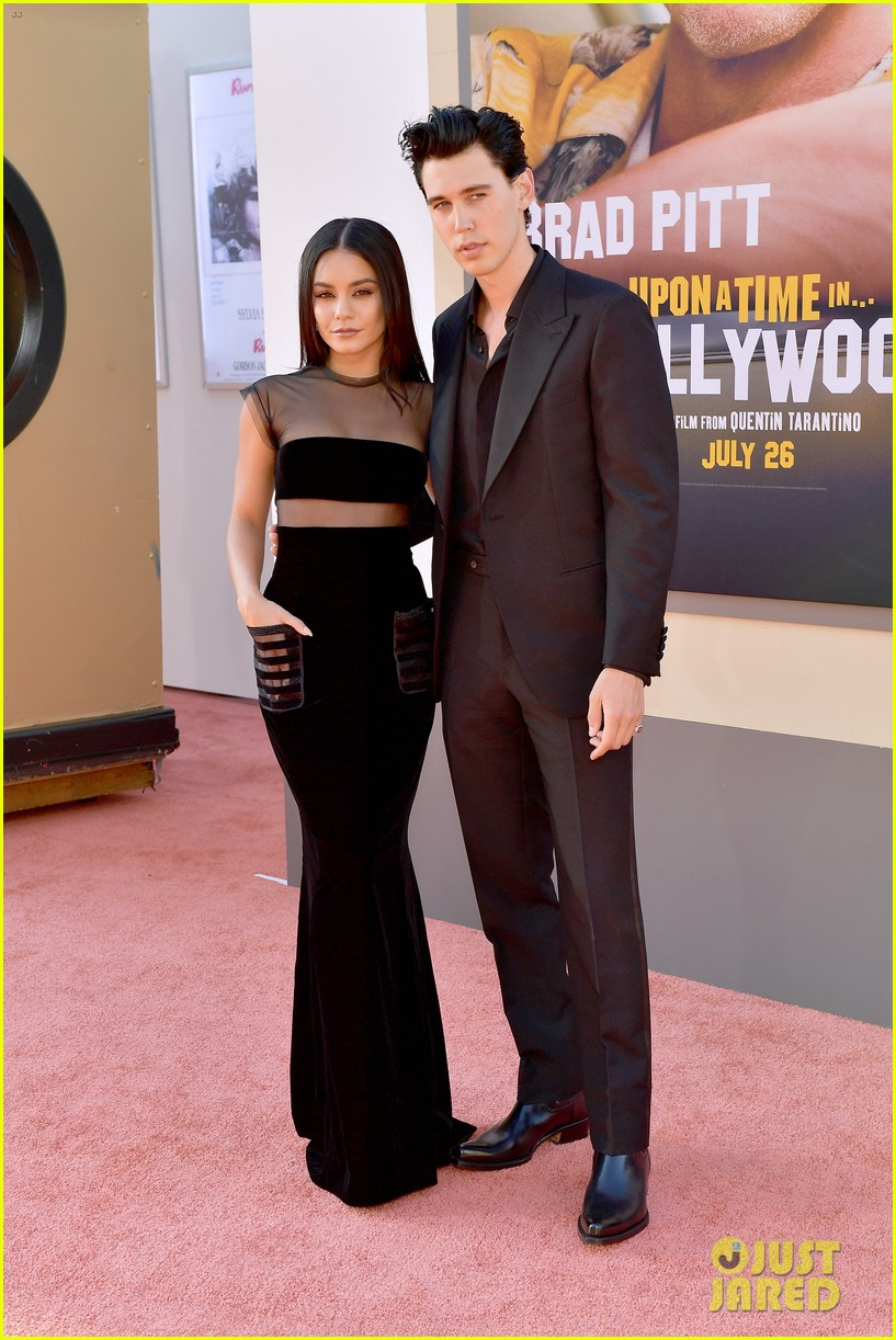 vanessa hudgens austin butler couple up once upon a time hollywood premiere 12