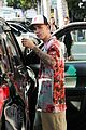 justin hailey bieber drew clothing church service la 04