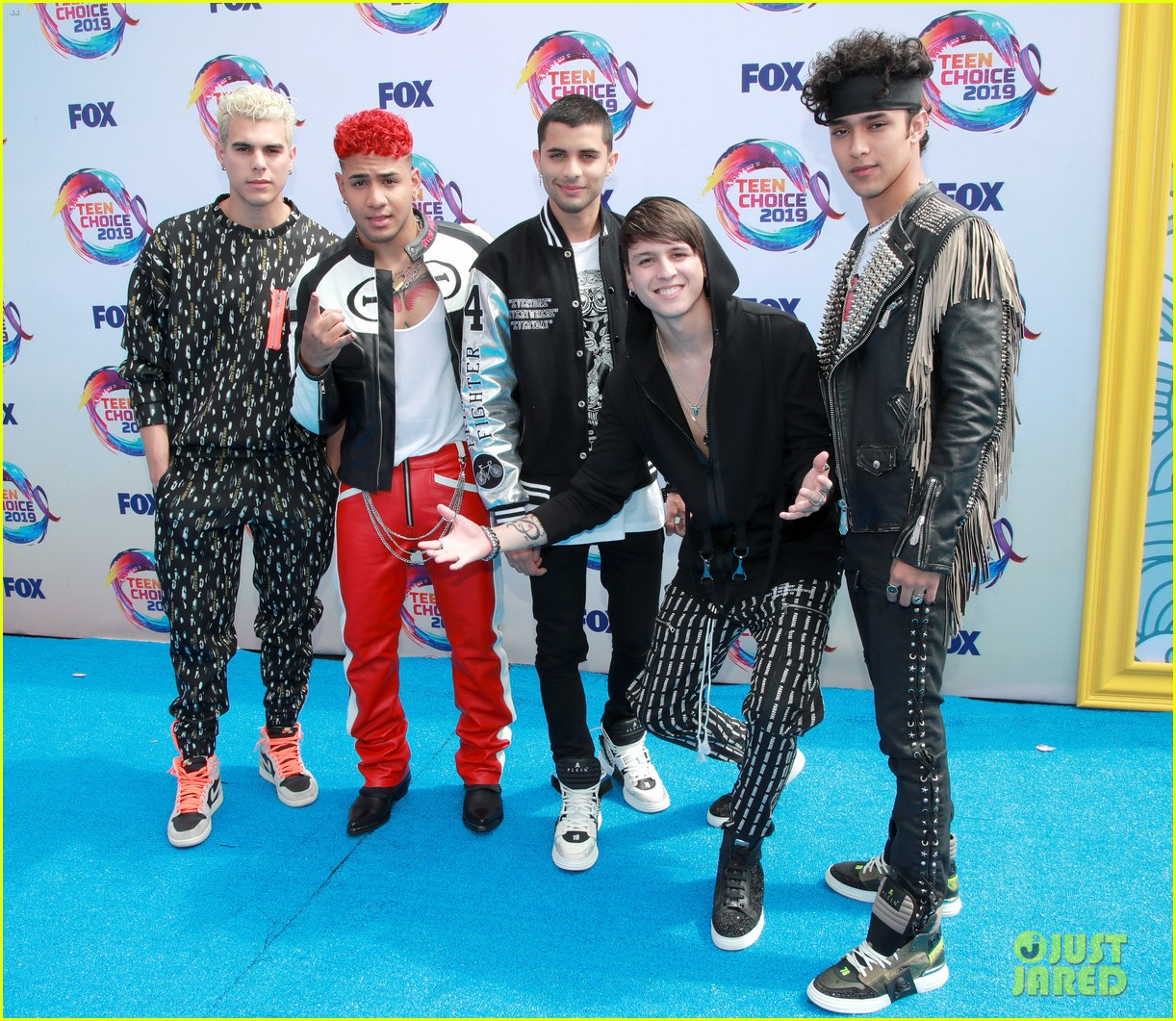 cnco attends 2019 teen choice awards 01