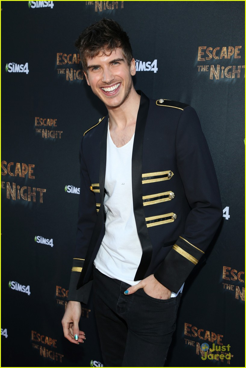 joey graceffa escape night event pics 04