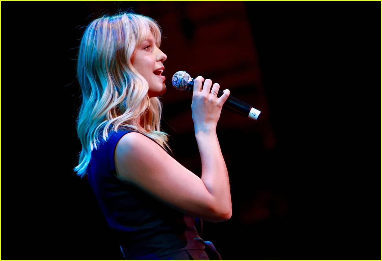 melissa benoist chris wood concert for america 01