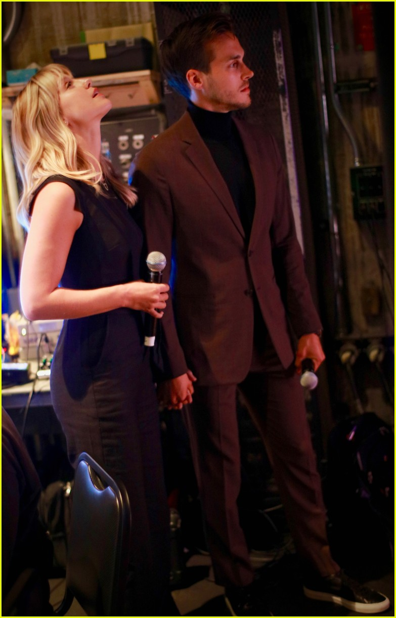 melissa benoist chris wood concert for america 02