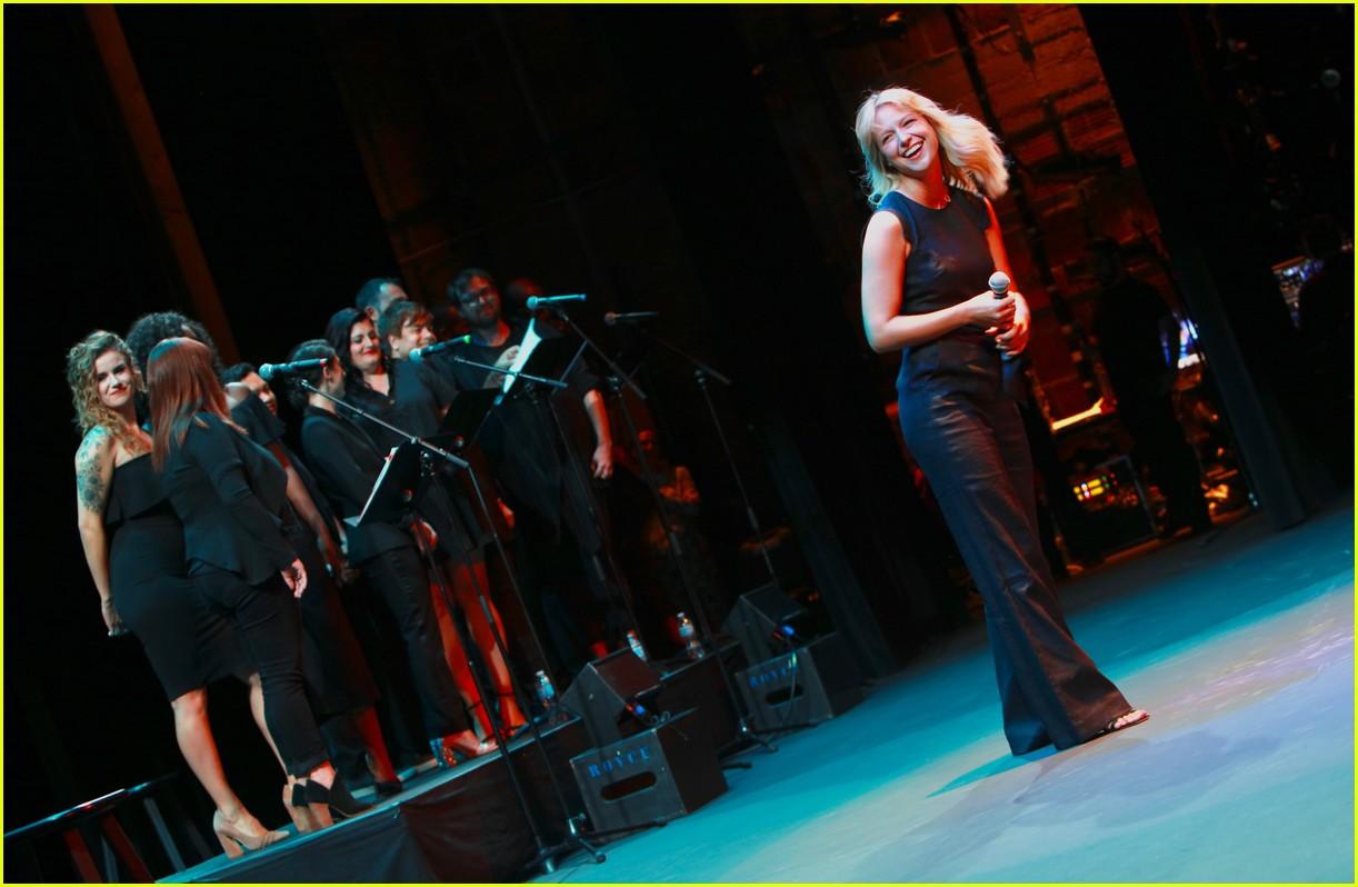 melissa benoist chris wood concert for america 04