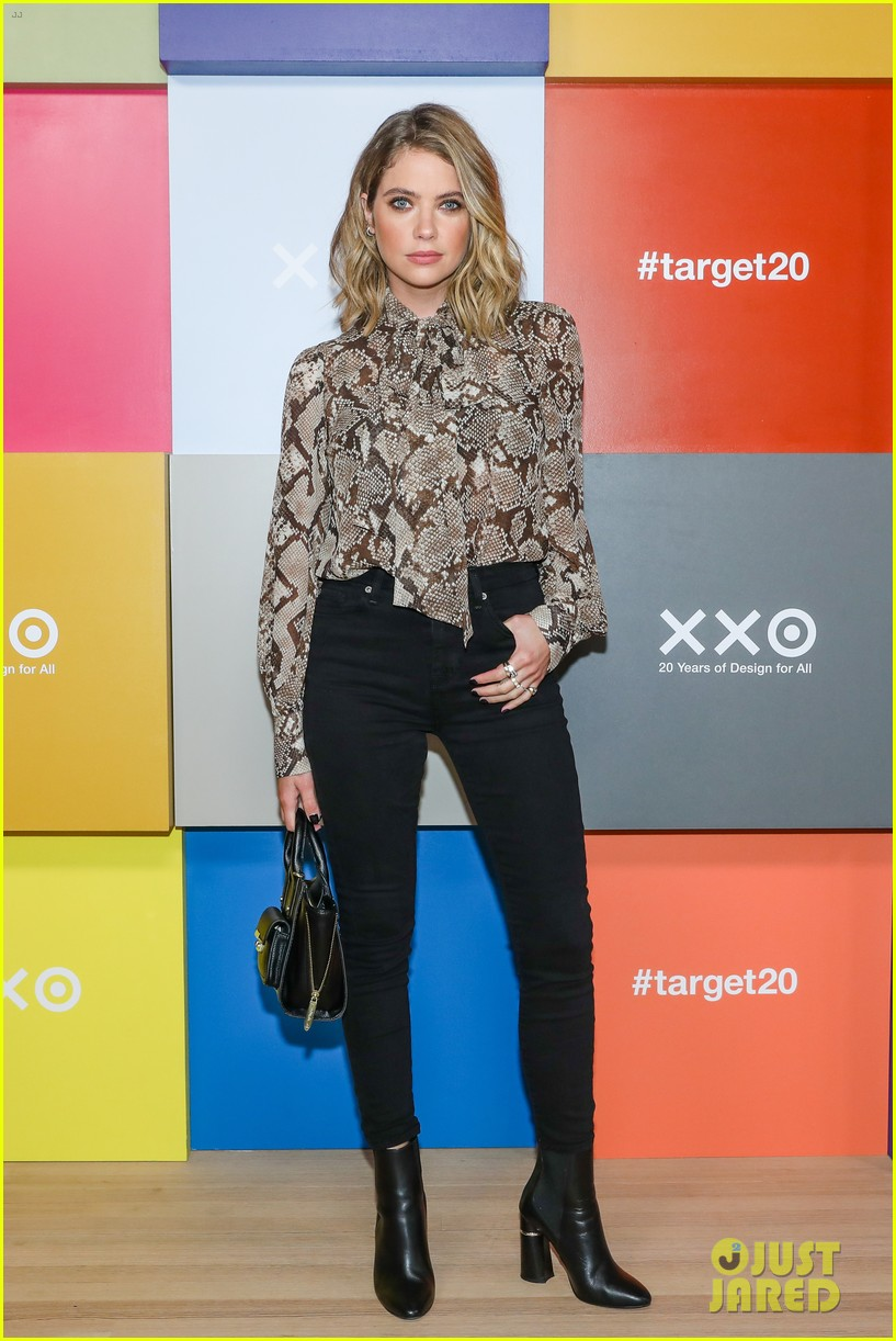 ashley benson mandy moore normani more target event 14