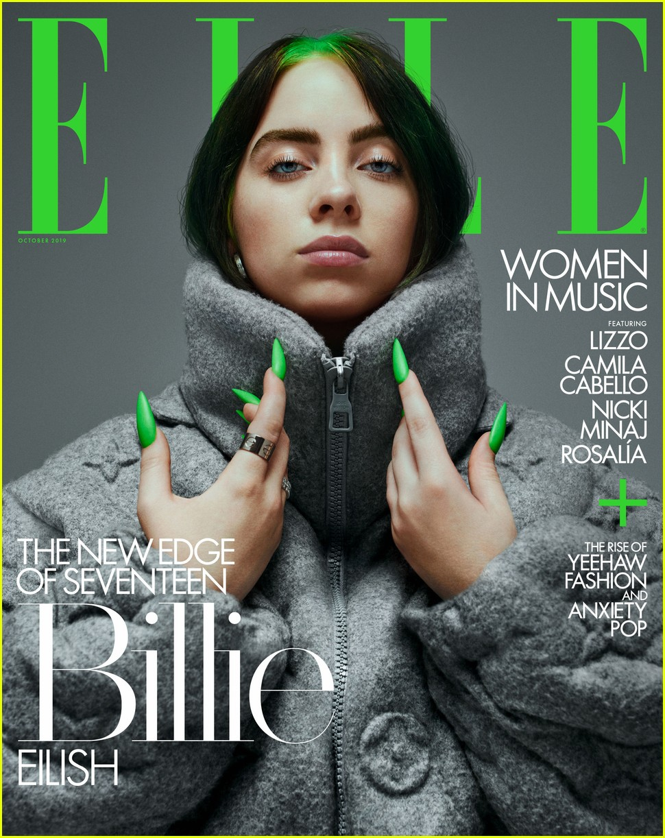 All The Girls Standing In The Line For The Bathroom: Billie Eilish Says She's In The 'Happiest Place Of Her