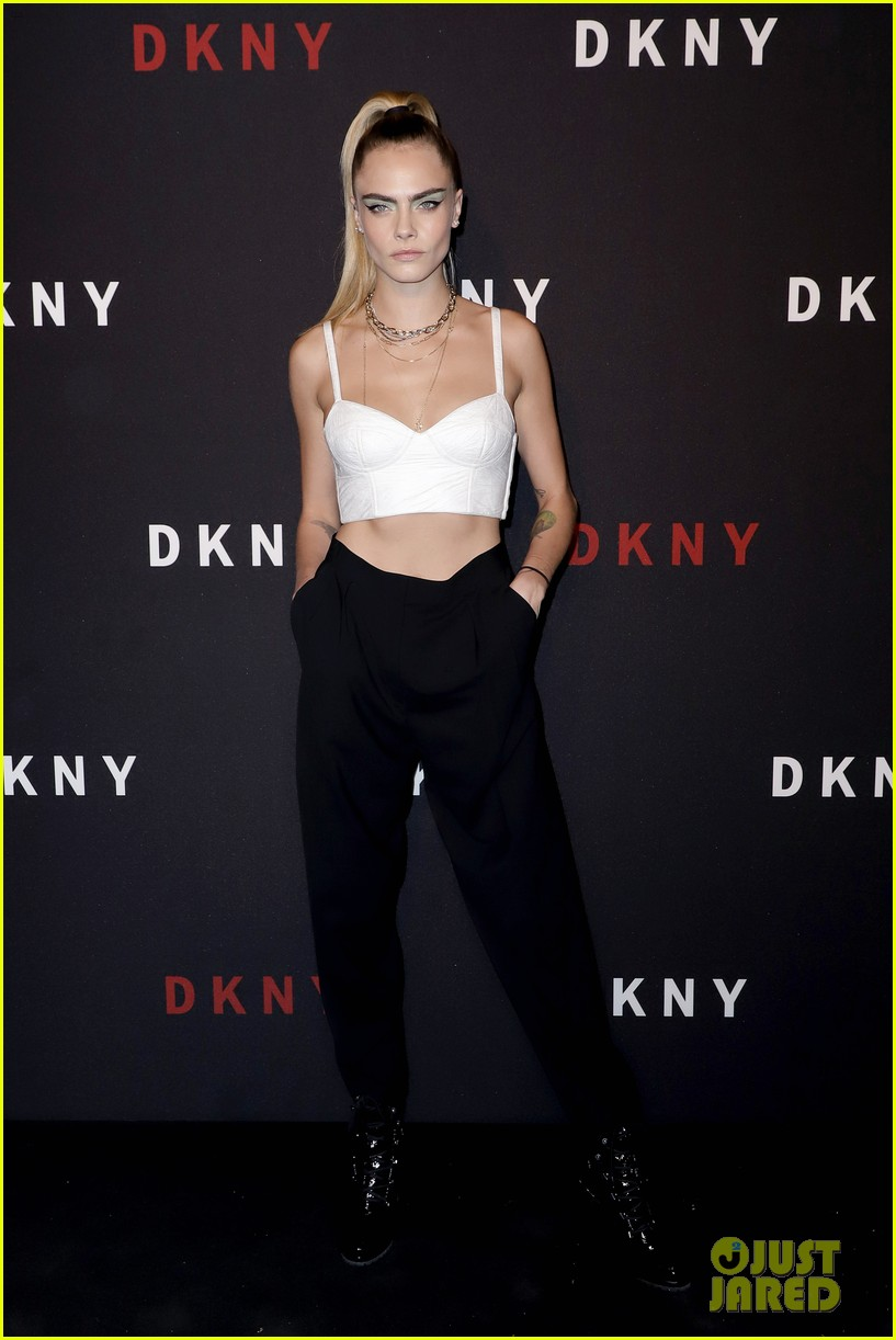 cara delevingne ashley benson kendall jenner dkny 30th anniversary event 19