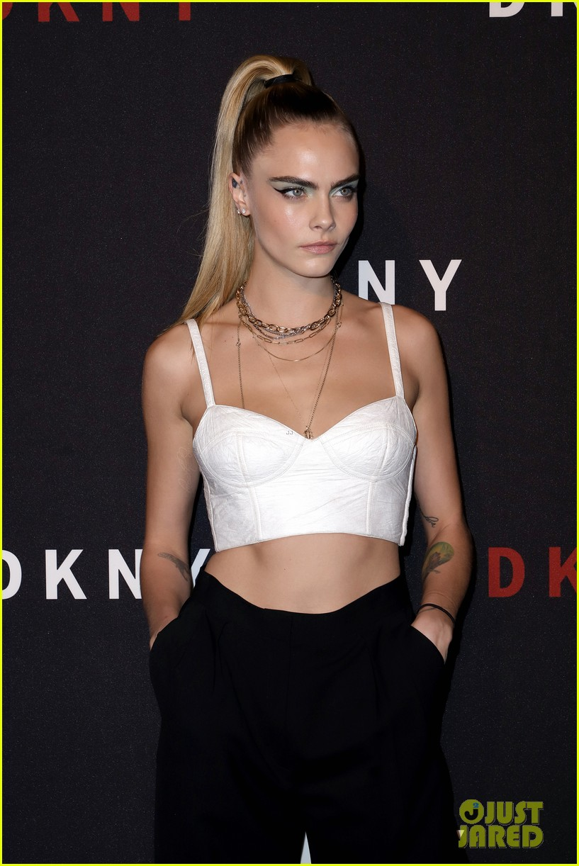 cara delevingne ashley benson kendall jenner dkny 30th anniversary event 25