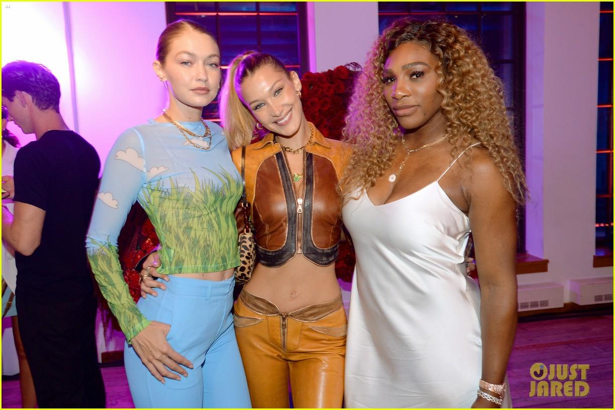 bella gigi hadid youtube fashion event nyfw 16