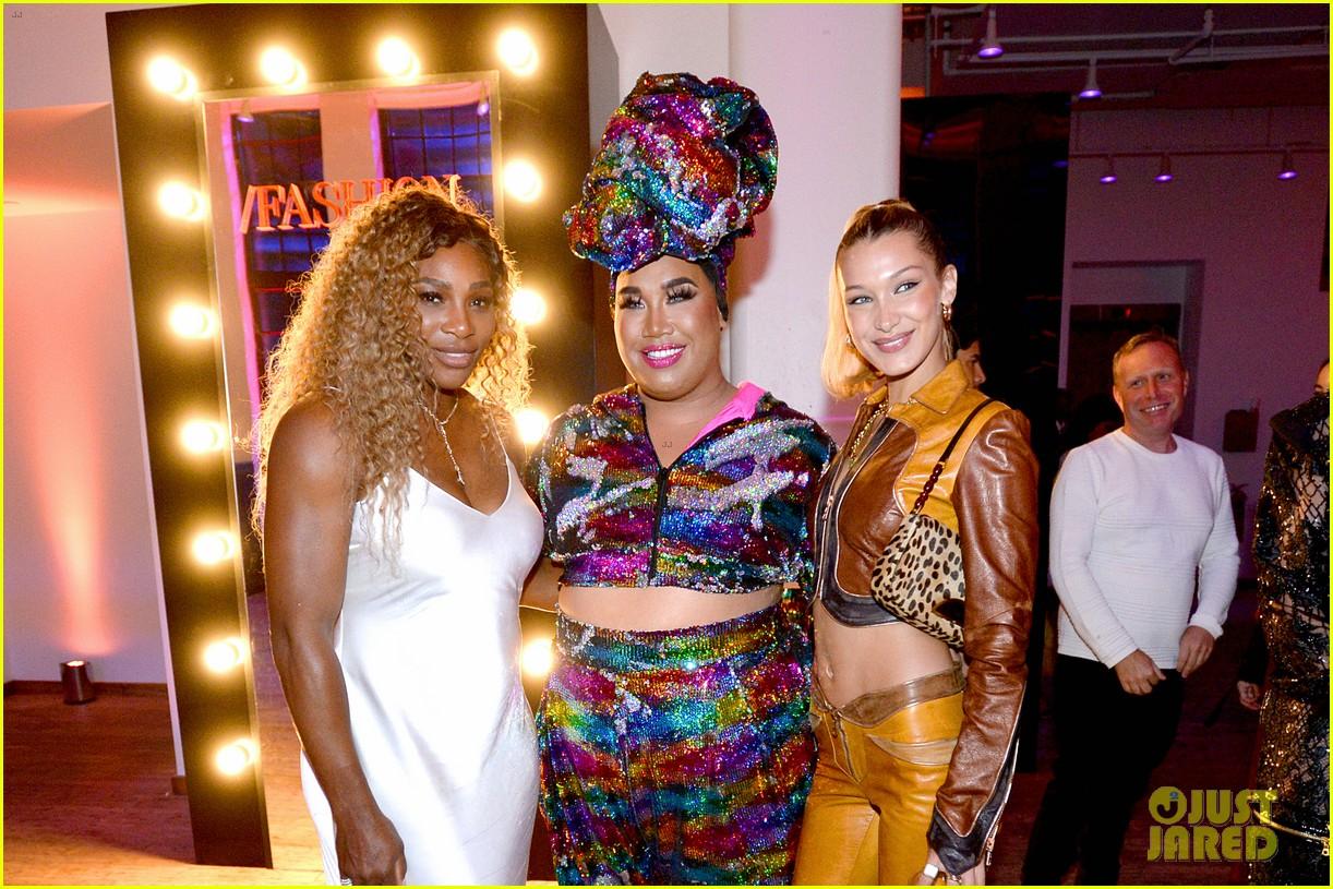 bella gigi hadid youtube fashion event nyfw 19