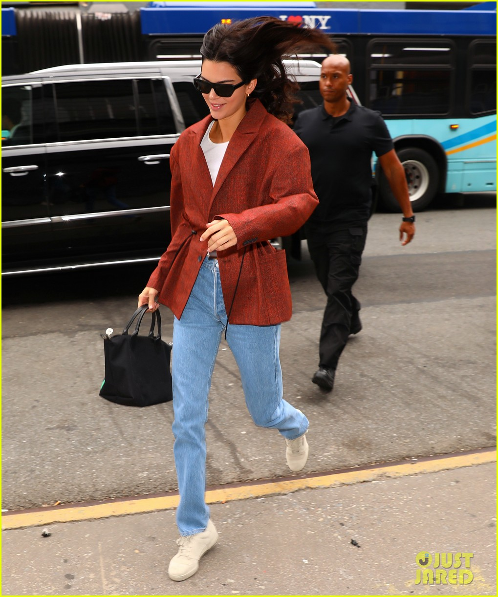 kendall jenner was so nervous to meet brad pitt kanye wests sunday service 10