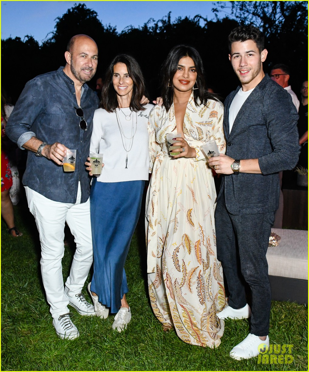 Nick Jonas & Priyanka Chopra Have A Night Out In The