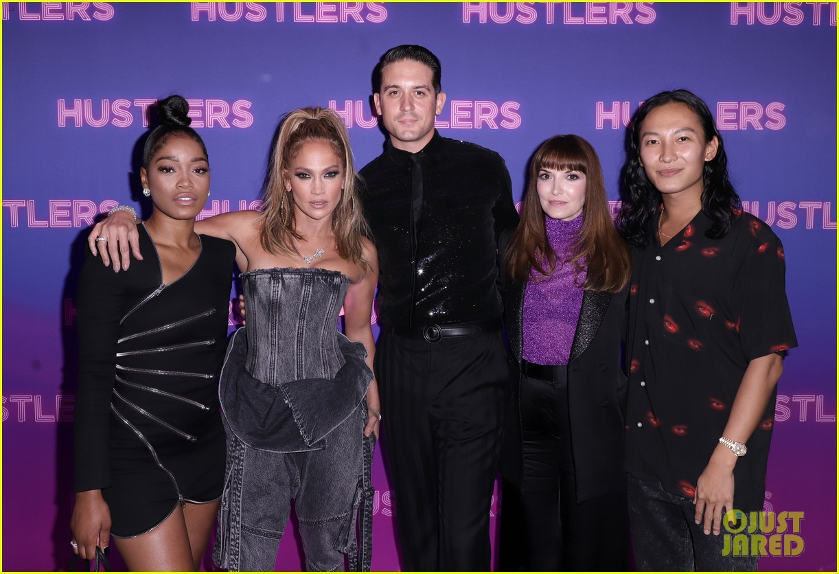 keke palmer milo manheim attend special alexander wang screening of hustlers 05