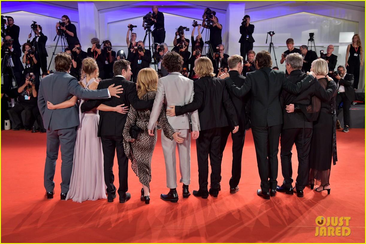 Lily-Rose Depp Dazzles in Chanel Alongside Timothee Chalamet