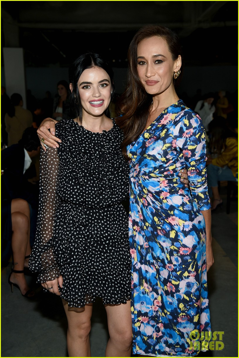 lucy hale attends jason wu runway show during nyfw 02