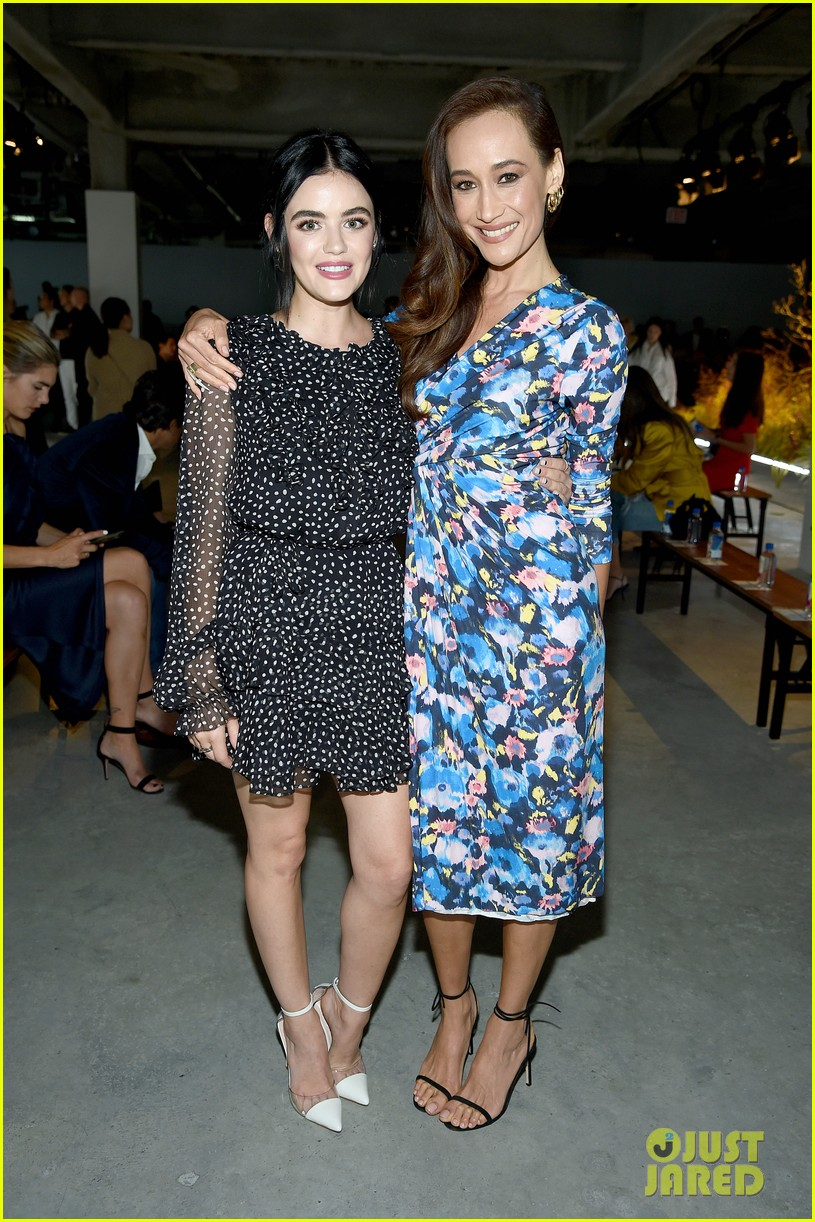 lucy hale attends jason wu runway show during nyfw 06