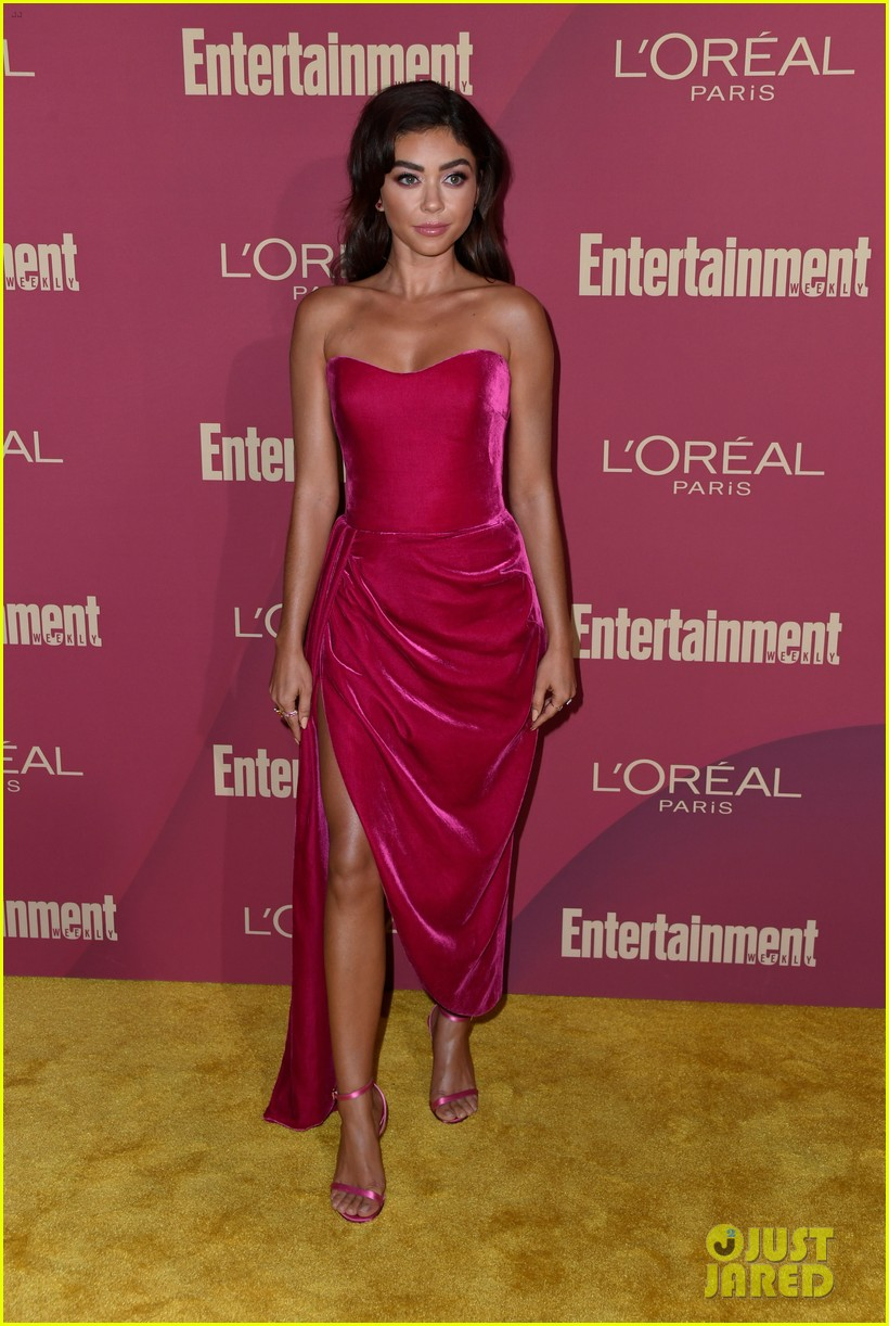 sarah hyland ariel winter glam it up at ews pre emmys party 17