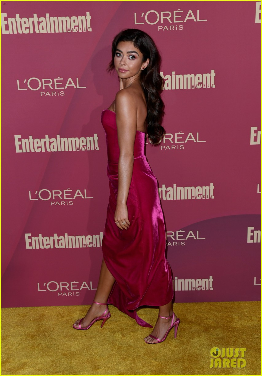 sarah hyland ariel winter glam it up at ews pre emmys party 19