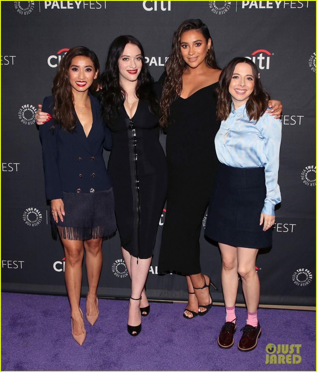 shay mitchell dollface cast at paley 03