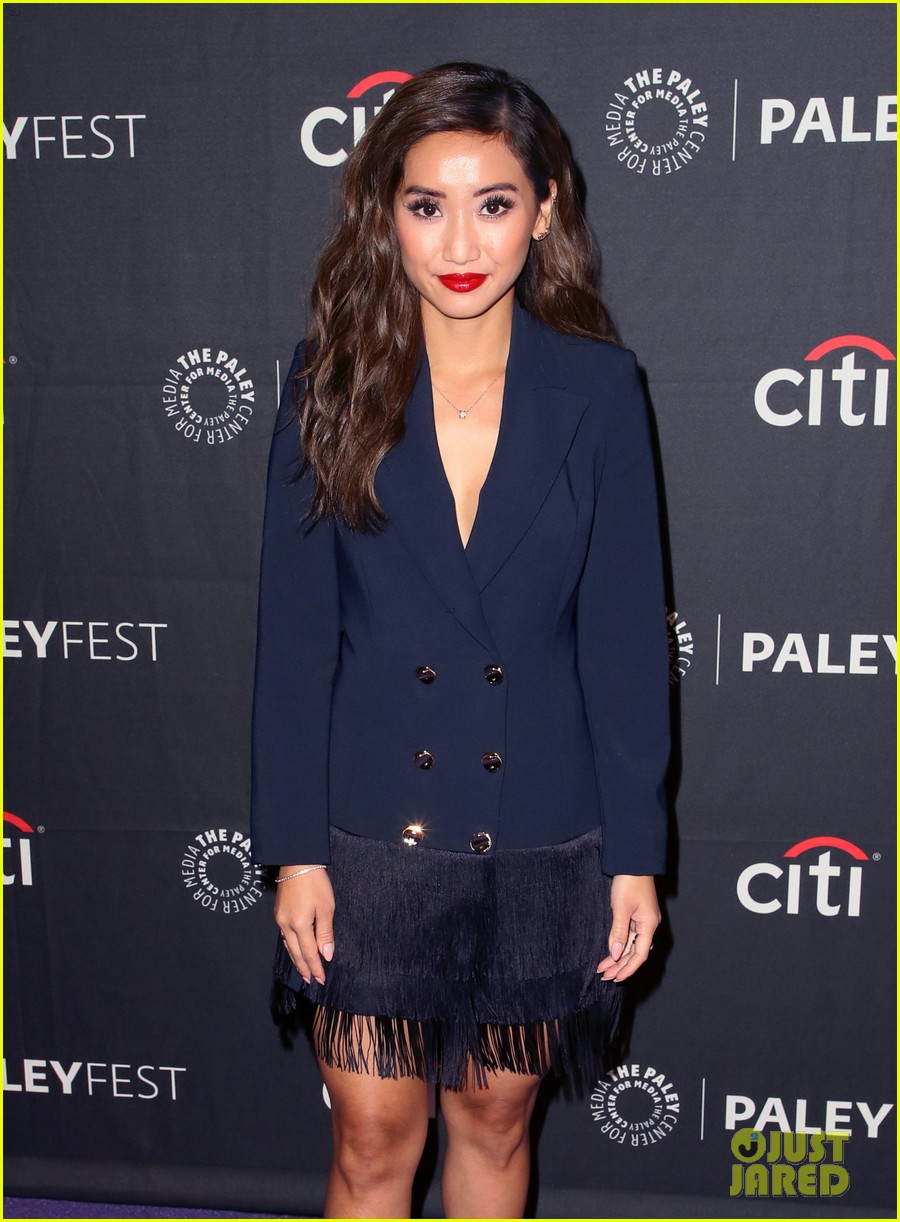 shay mitchell dollface cast at paley 04
