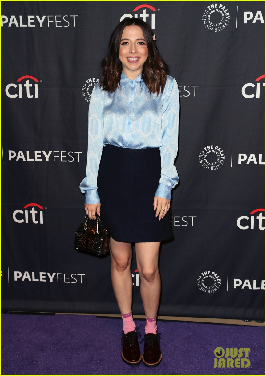 shay mitchell dollface cast at paley 06