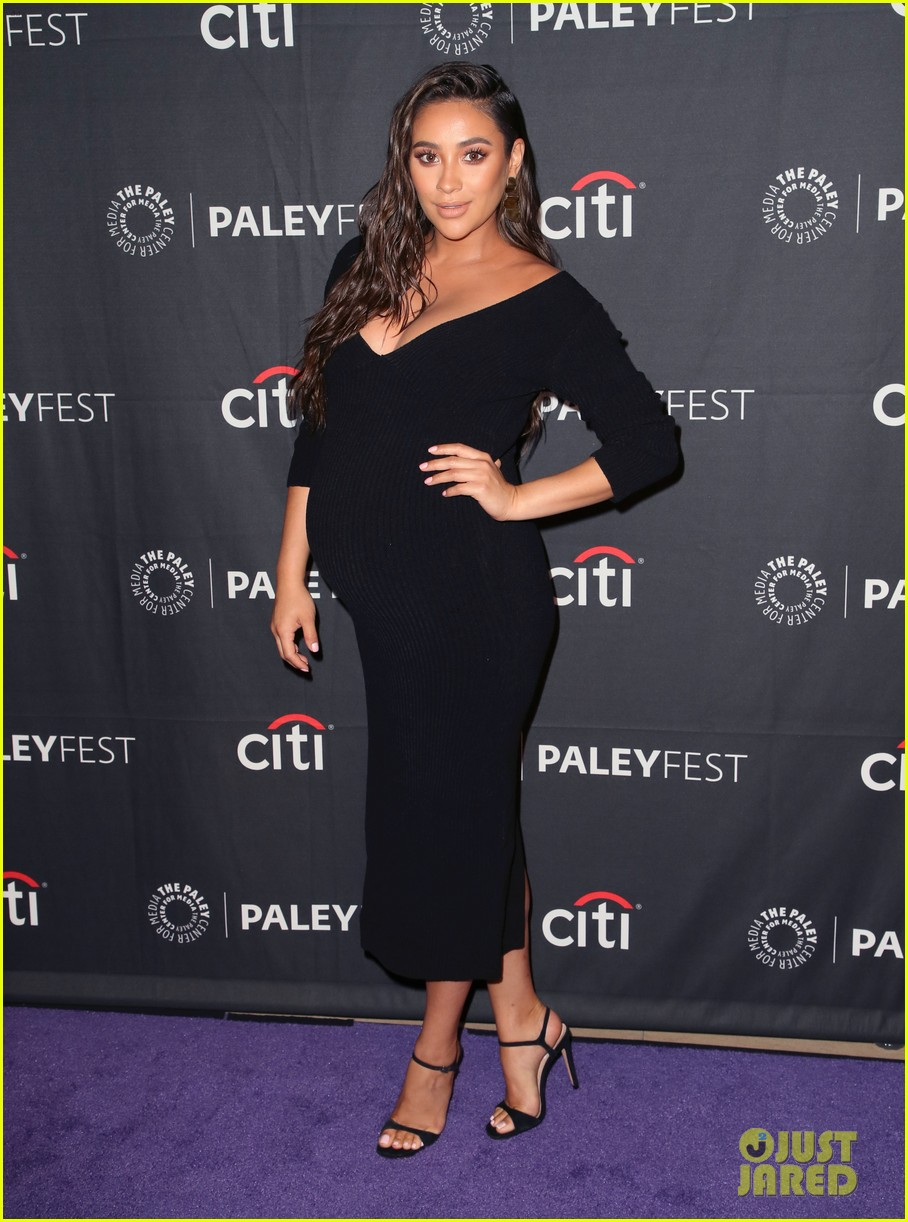 shay mitchell dollface cast at paley 10