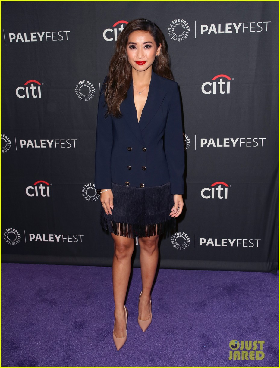 shay mitchell dollface cast at paley 23