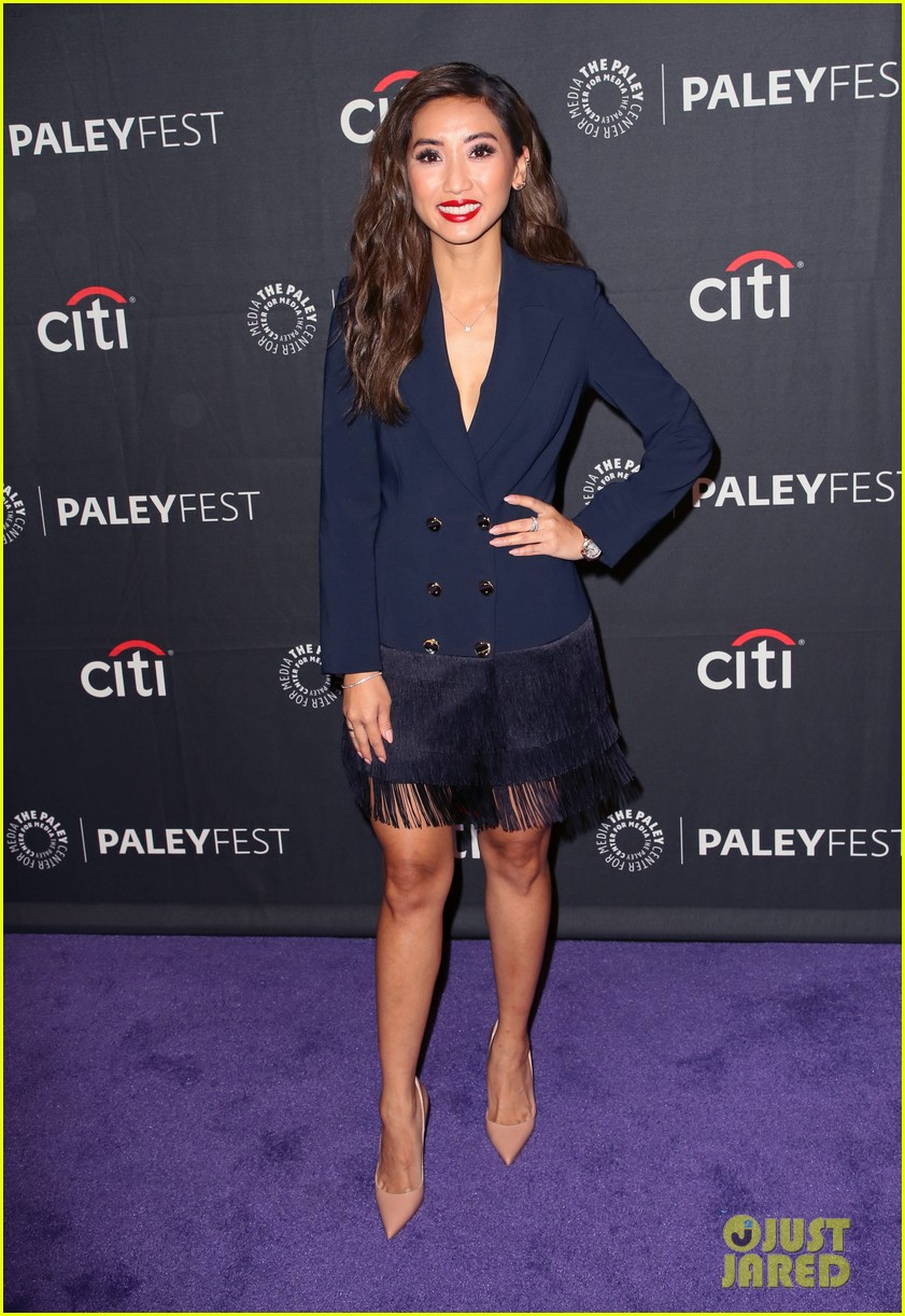 shay mitchell dollface cast at paley 24
