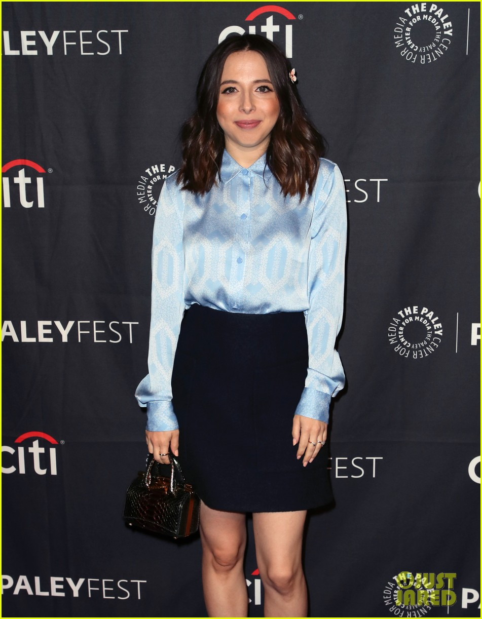shay mitchell dollface cast at paley 26