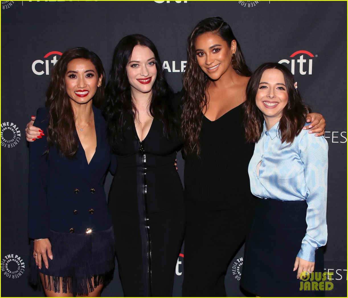 shay mitchell dollface cast at paley 29