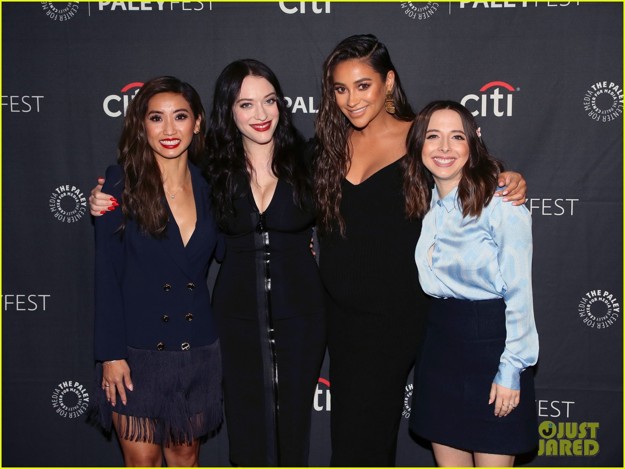 shay mitchell dollface cast at paley 31